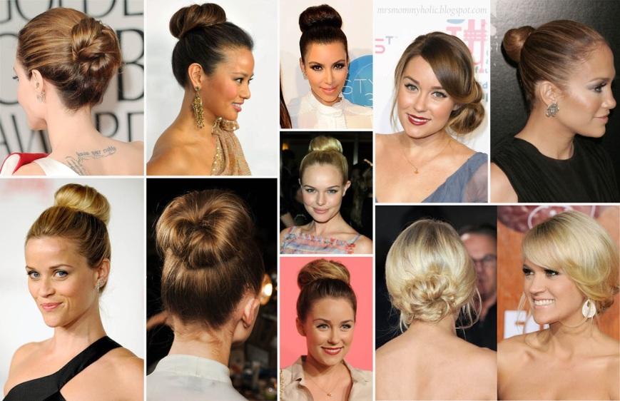 hair bun copy