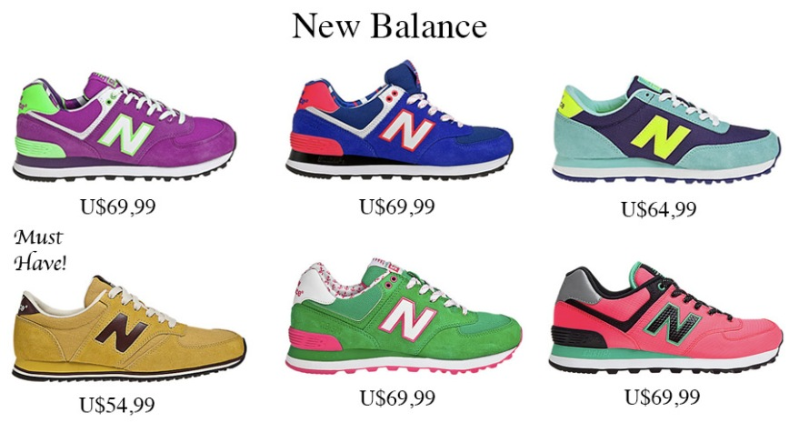 Montagem new balance