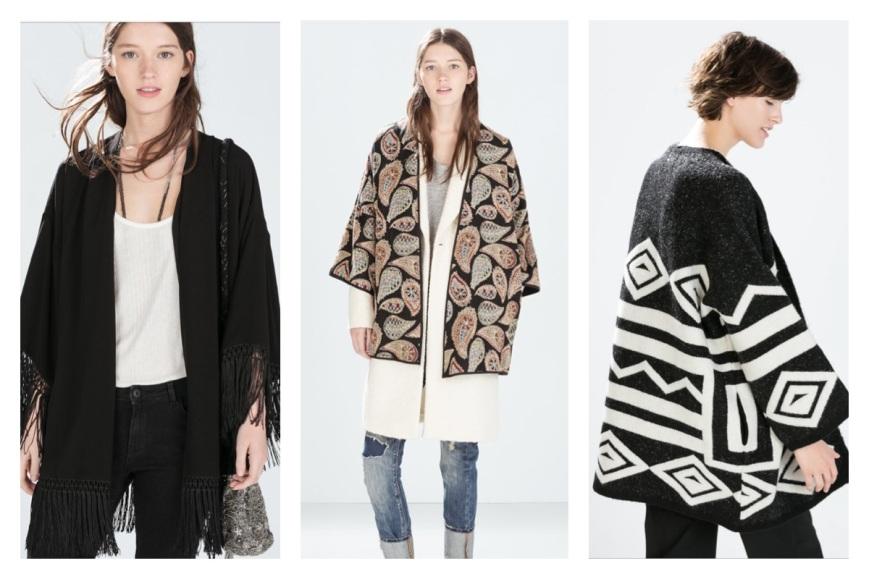Zara: U$ 59,90 | U$99,90 | U$ 99,90